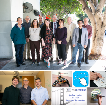 Collage of RERC staff mebers and RERC projects